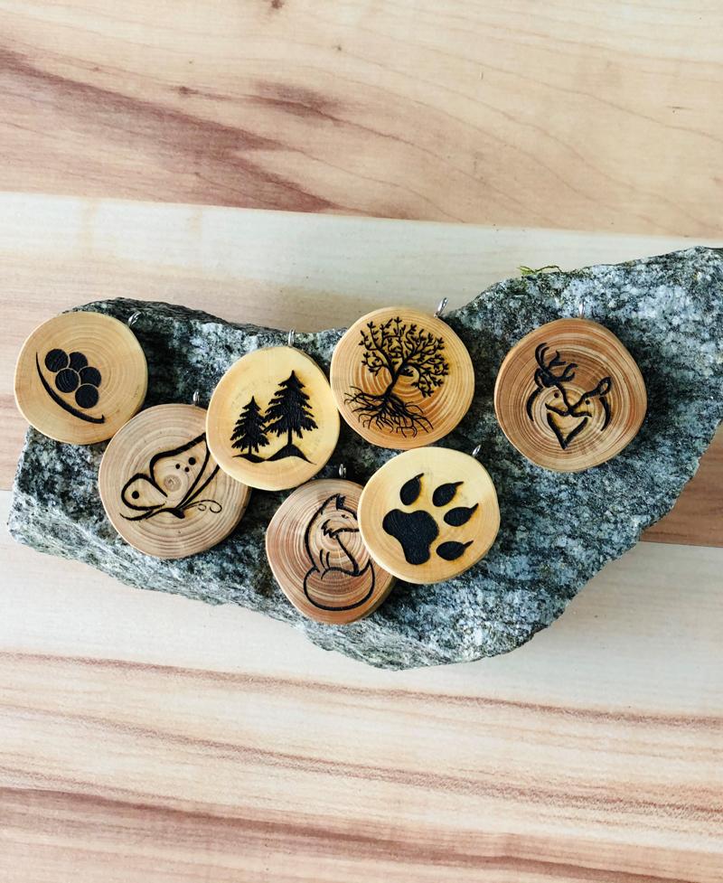 Amulette ohne Rinde