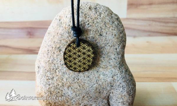 Amulett Blume des Lebens Eiche-neu