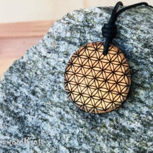 Amulett Blume des Lebens Erle