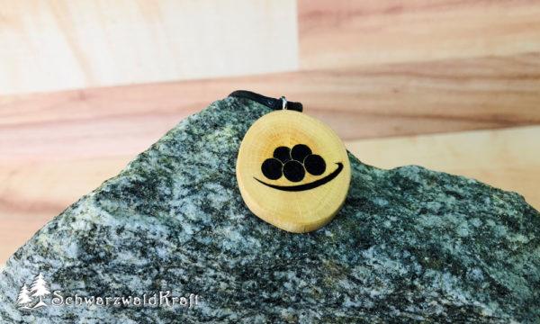 Amulett Bollenhut ohne Rinde Buche