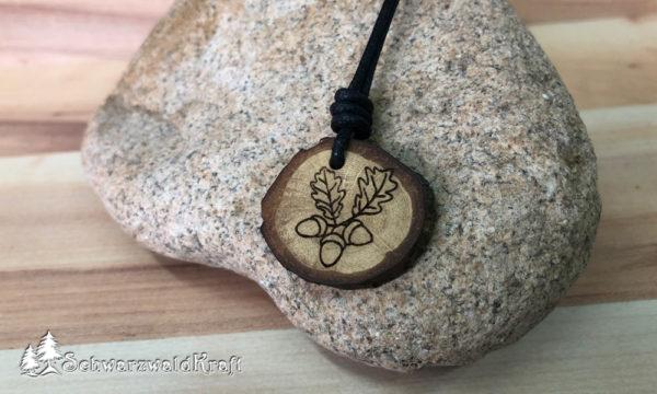 Amulett Eichenlaub Eiche