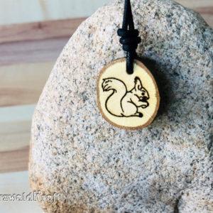 Amulett Eichhörnchen Eiche-neu