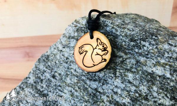 Amulett Eichhörnchen Erle