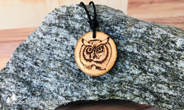 Amulett mystische Eule Erle