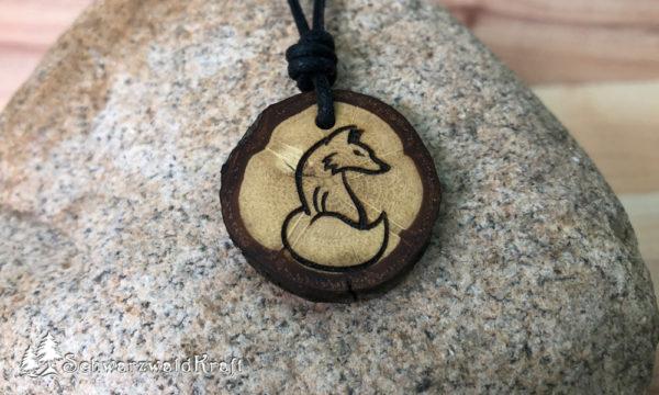 Amulett Fuchs Eiche