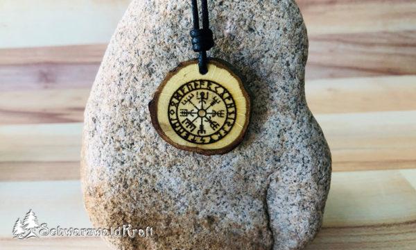 Amulett Vegvísir Eiche-neu