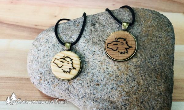 Anhänger Sternzeichen Löwe Bronzefassung