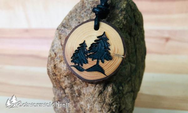 Amulett Tannenbäume Fichte