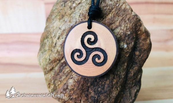 Amulett Triksele Fichte