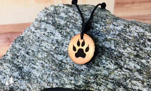 Amulett Wolfstatze Erle