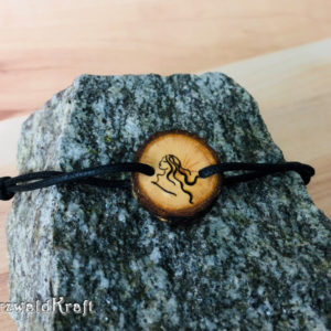 Armband Sternzeichen Jungfrau Erle