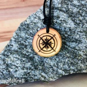 Amulett Kompass Erle