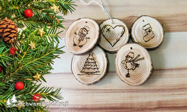 Weihnachten Fensterdeko Holz