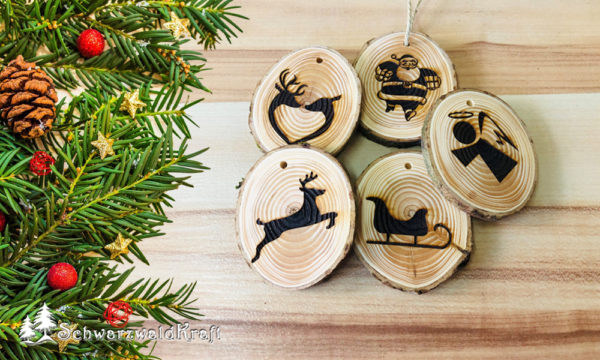 Weihnachtsbaumdeko Holz
