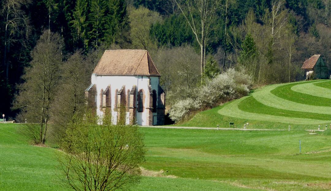 Die Kapelle des verschwundenen Klosters