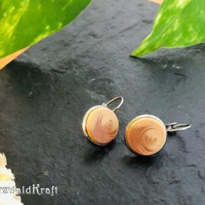 Ohrringe aus Holz Fichte