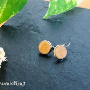 Ohrringe aus Holz Kirsche