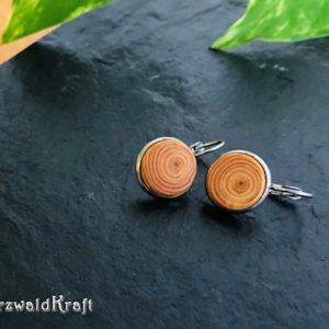 Ohrringe aus Holz Lärche