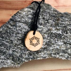 Yoga Amulett Kronenchakra