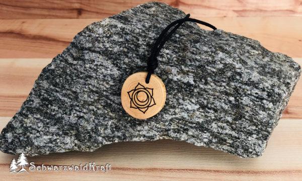 Yoga Amulett Sakralchakra