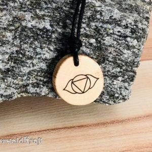 Yoga Amulett Stirnchakra